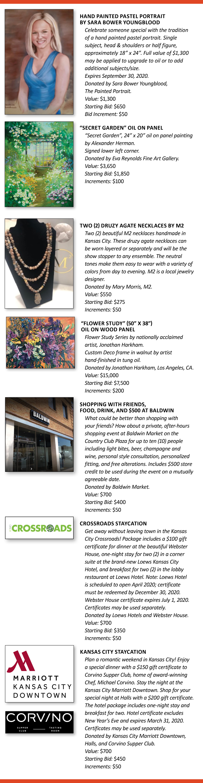 Symphony Ball Auction
